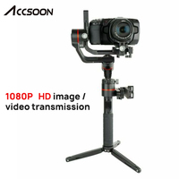 Accsoon A1 PRO 3 Axis Handheld Gimbal Stabilizer for DSLR Canon Cameras Loading 3.6KG Cine Eye 1080P Wireless Image Transmissing