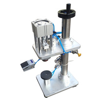 베스트 셀러 공압 향수 병 뚜껑 크림 핑 기계