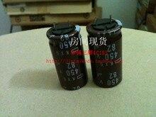 30 ШТ. Япония NIPPON электролитический конденсатор 450V82UF 18X35.5 высокой частоты с низким сопротивлением длительный срок 105 градусов бесплатная доставка