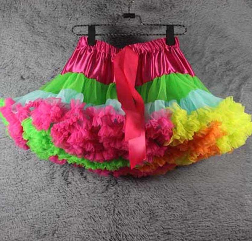 2019 heißer verkauf baby prettiskirt regenbogen tutu rock - Kinderkleidung - Foto 1