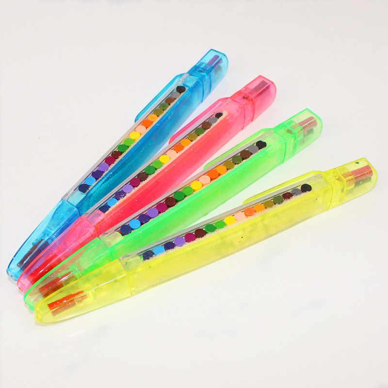 ZUOFily ภาพวาดเด็กของเล่น 20 สี Crayon เด็กตลกสร้างสรรค์การศึกษาน้ำมัน Pastels เด็ก Graffiti ปากกา Art ของขวัญของเล่น