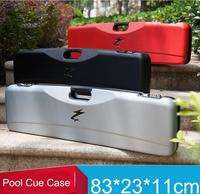 New High Quality Code Pool Cues Case Double Coded Lock Billiard Accessory Black Red Silver Color Can Put 3 Butts 4 Shafts China