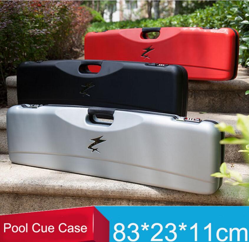 Nouveau haute qualité Code piscine indices cas Double Code serrure billard accessoire noir rouge argent couleur peut mettre 3 mégots 4 arbres chine