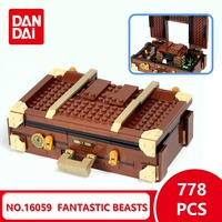 2018 Fantastic Beasts and Where to Find Them Suitcase 75952 Amazing Animals New Legoingly Bricks Building Blocks DIY Toys GK30
