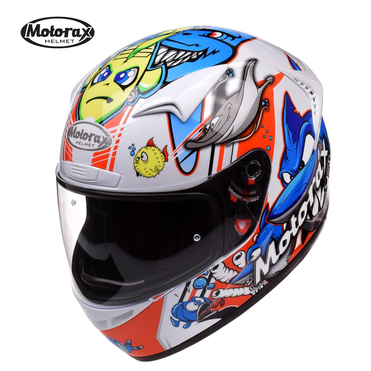 цена на MOTORAX R30 Motorcycle Helmet Racing Full Face Casco Capacete Casque Moto Helm Kask Helmets Kaski Motocyklowe Crash For Kawasaki