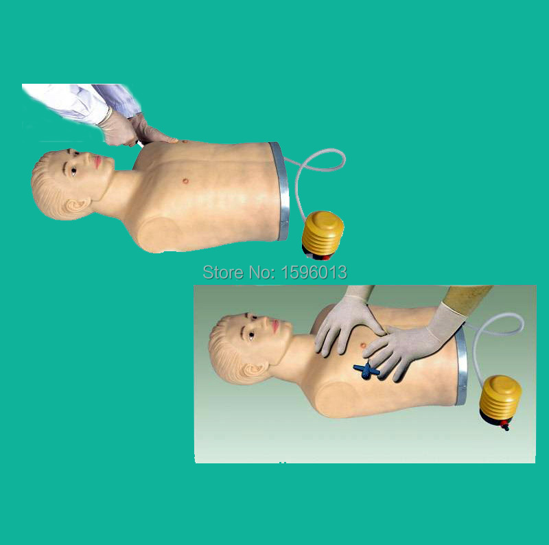 advanced pneumothorax simulator treating model, Pneumothorax Simulator training Model peritoneal dialysis simulator model