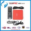 Receptor de satélite digital hd TOCOMFREE MINI S929 con IKS/SKS sintonizador DVB-S/S2 para América Del Sur Venta Caliente