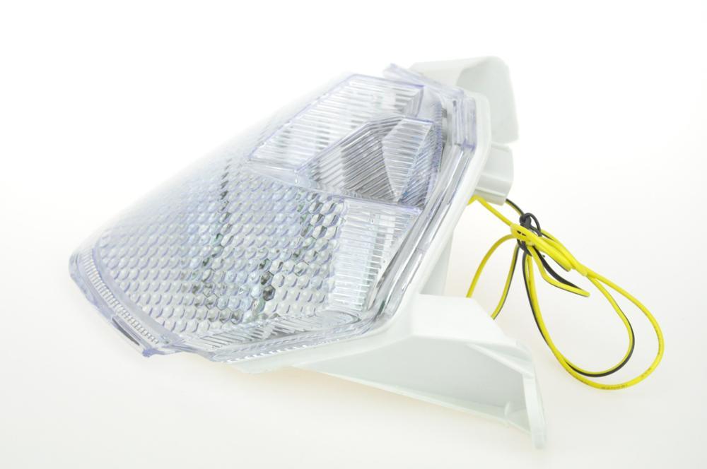 Светодиодный Встроенный задний фонарь сигнальные лампы для KAWASAKI NINJA ZX-6R 09-10/ZX-10R 08-10/Z1000/Z750S 07-08