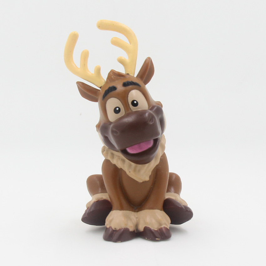 8.5CM Kristoff Reindeer Sven PVC Action Figure Model Toy Gifts Toys For Children Brinquedos Toy Kids leorx blue pvc simulation sea life shark action figure toy with sound children early education toys kids birthday gifts