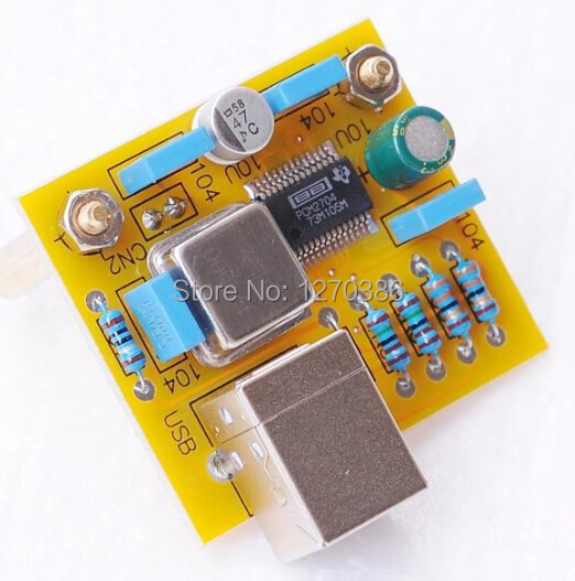 Free Shipping!!! PCM2704 USB Module (USB rpm S / P output) for WM8741 dac decoder