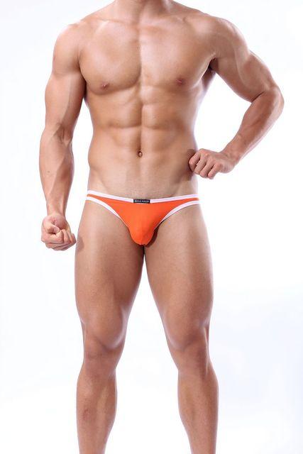 HOT Selling Mens Sexy Modal Breathe Underwear Briefs Bulge Pouch Shorts Underpants mens jockstrap underwear g string thongs