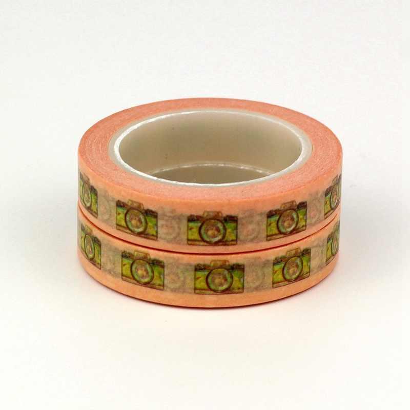 2 шт./партия декоративная камера с розовыми лентами Васи японский 10 мм x 10 м/рулон милые инструменты для скрапбукинга маскирующая лента для фотоальбома