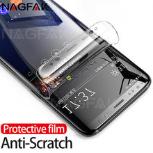 NAGFAK 3D Curved Screen Protector For Samsung Galaxy S9 S9Plus S8 S8Plus Note 8 S7 Edge Soft Protective film Not Tempered Glass(China)