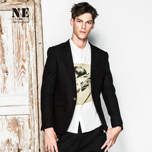 Brand Men's Clothing2016New Arrival men formal wedding suit jacket costumes business suits black designs slim fit jacket coat