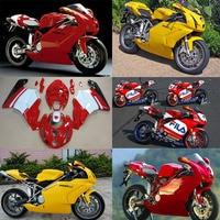 Plans à personnaliser Pour Ducati 999 749 2003-2004 moulage par injection Plastique ABS carénage Kit Carrosserie Moto CB01