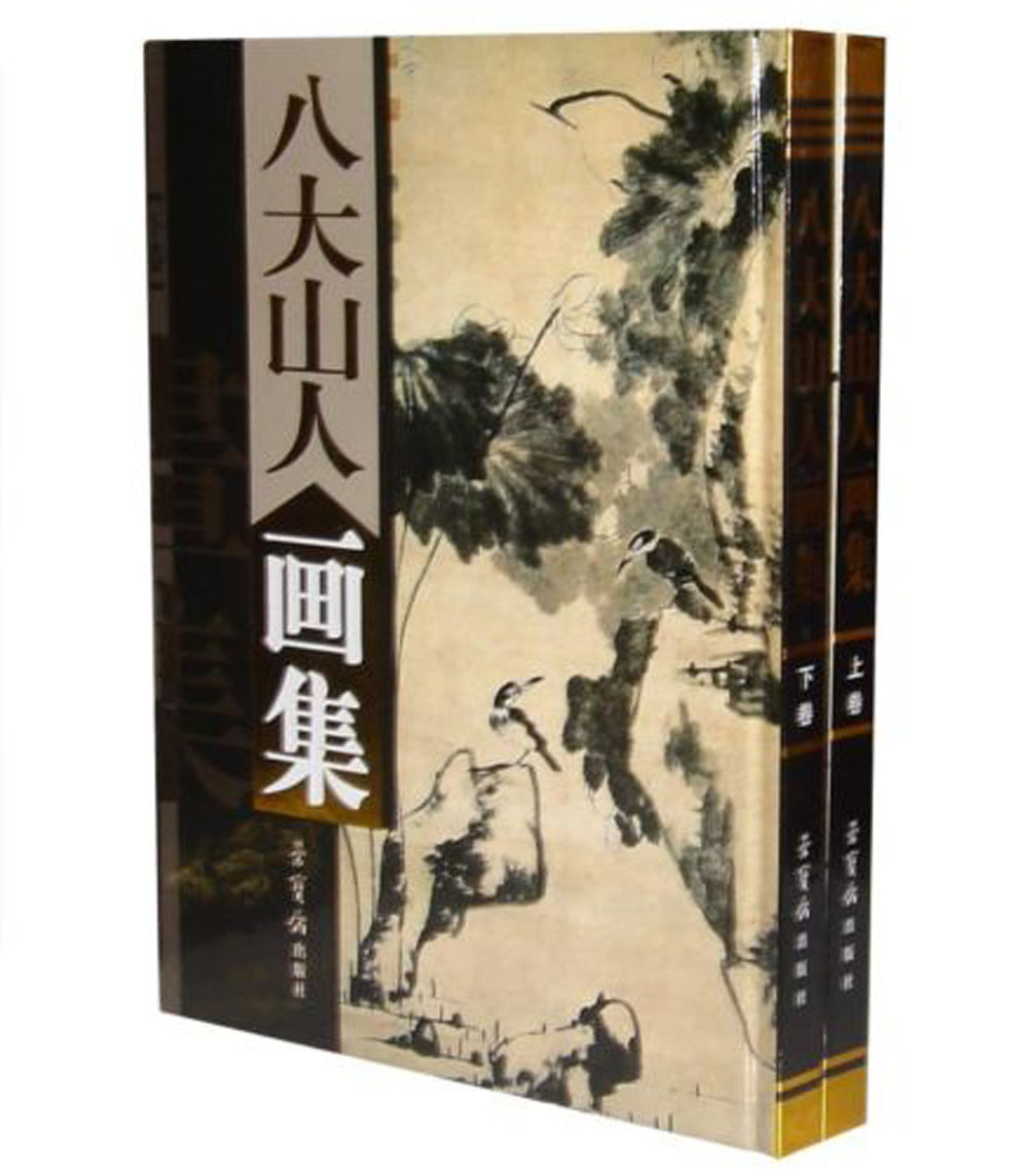 Peinture chinoise pinceau encre Art sumi-e Album BaDaShanRen paysage livre
