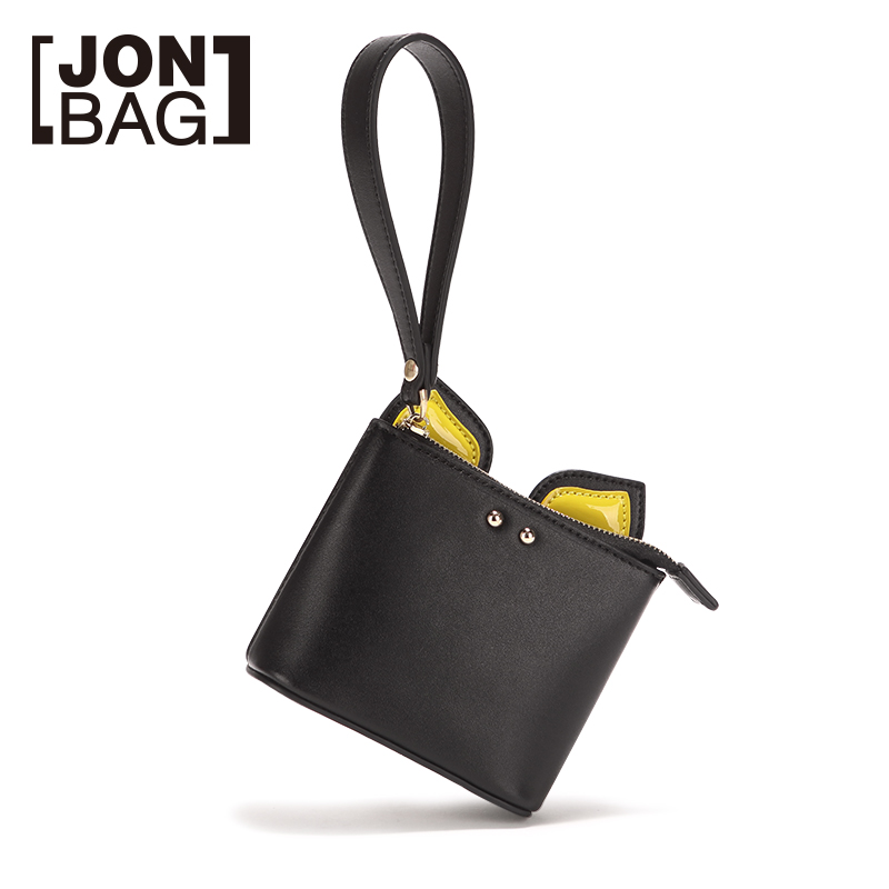 JONBAG cute teenage hearts funny little purse girl short fashion change clip hand bagJONBAG cute teenage hearts funny little purse girl short fashion change clip hand bag