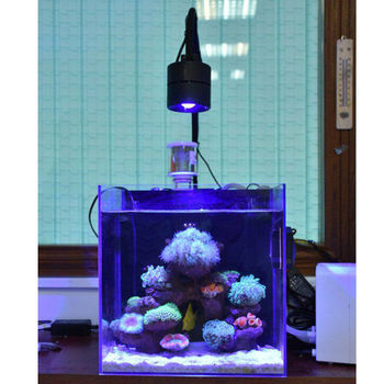 Aquarium Seawater Coral Light 30W 70W Sea Water Sunrise Sunset Full Spectrum LED Sea Cylinder Sea Coral Light Tube Clamp Lamp