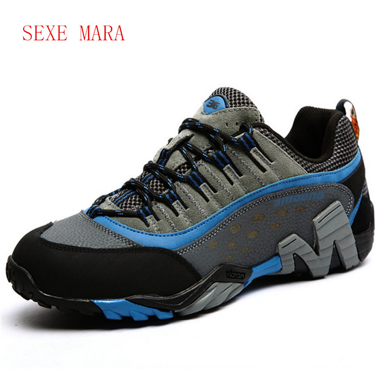 Size 36-45 Brand Outdoor Sport Shoes men Sneakers men shoes Running shoes for men leather non-slip Off-road Walking Trainers V17  trainers men 2017 brand sneakers breathable running shoes outdoor blade sole sports shoes high quality non slip sneakers