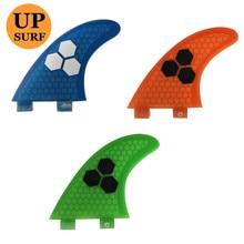 Surf FCS G7 Fins Fiberglass Honeycomb Pranchas de 5 Colors Available Free Shipping