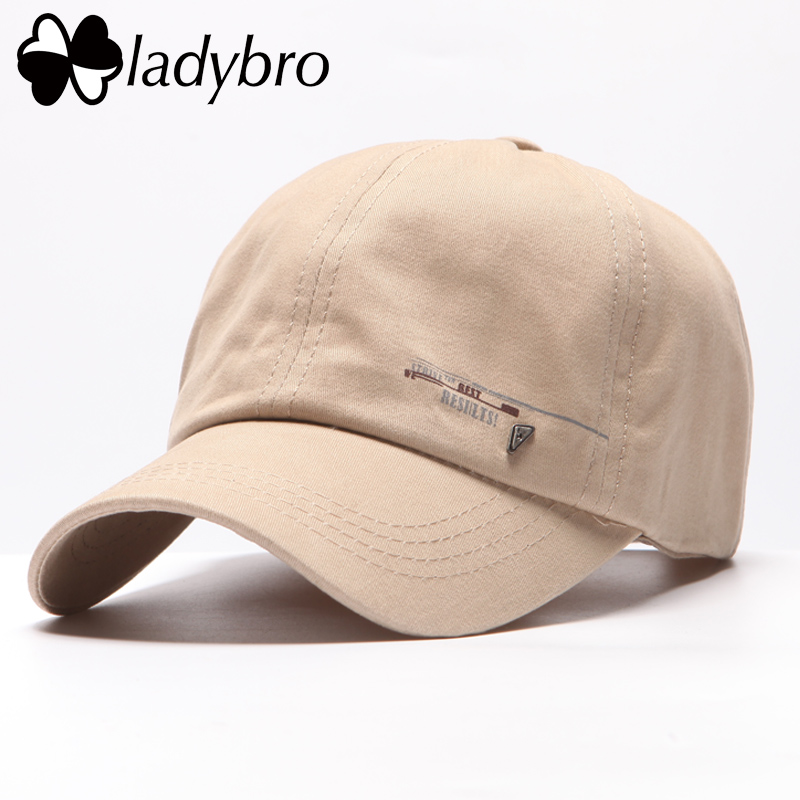 Prix pour Ladybro Mode Chapeau Cap Hommes D'été de Baseball Masculin Chapeau Occasionnel Lettre Marque Cap Noir Snapback Casquette Réglable Casquette Os