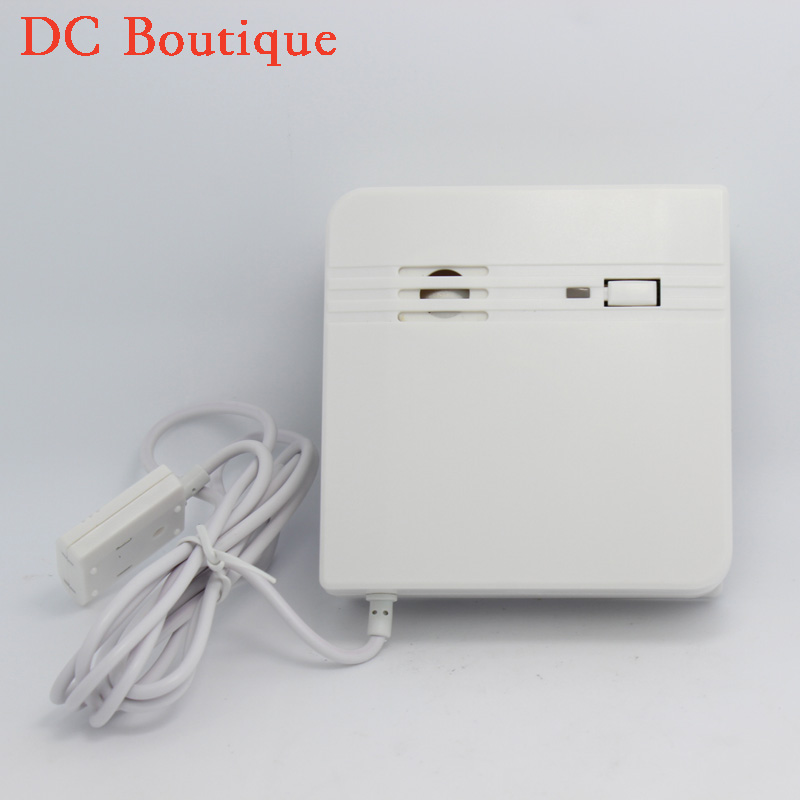 (1 PCS)Factory Warehouse Use Wireless Water leak detector Liquid Alarm Home security 315/433Mhz Machine Room protection aluminum case high quality machine water leak detector water leak water leak alarm