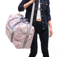 Hot Sale High Quality Folding Travel Bag Large Capacity Waterproof Printing Bags Portable Women S Tote