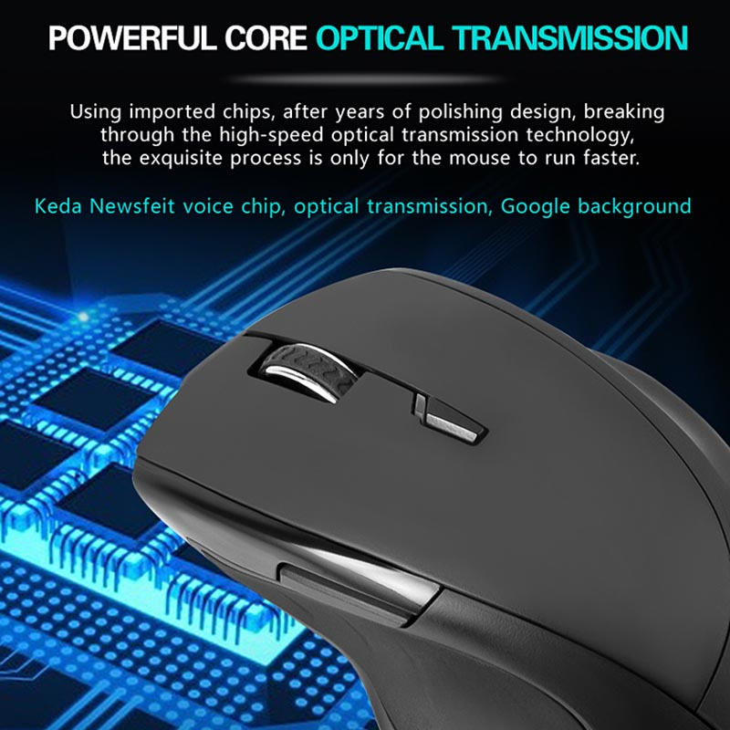 Smart Wireless Mouse 2.4G Translation Voice Control Intelligent For Computer Office ND998