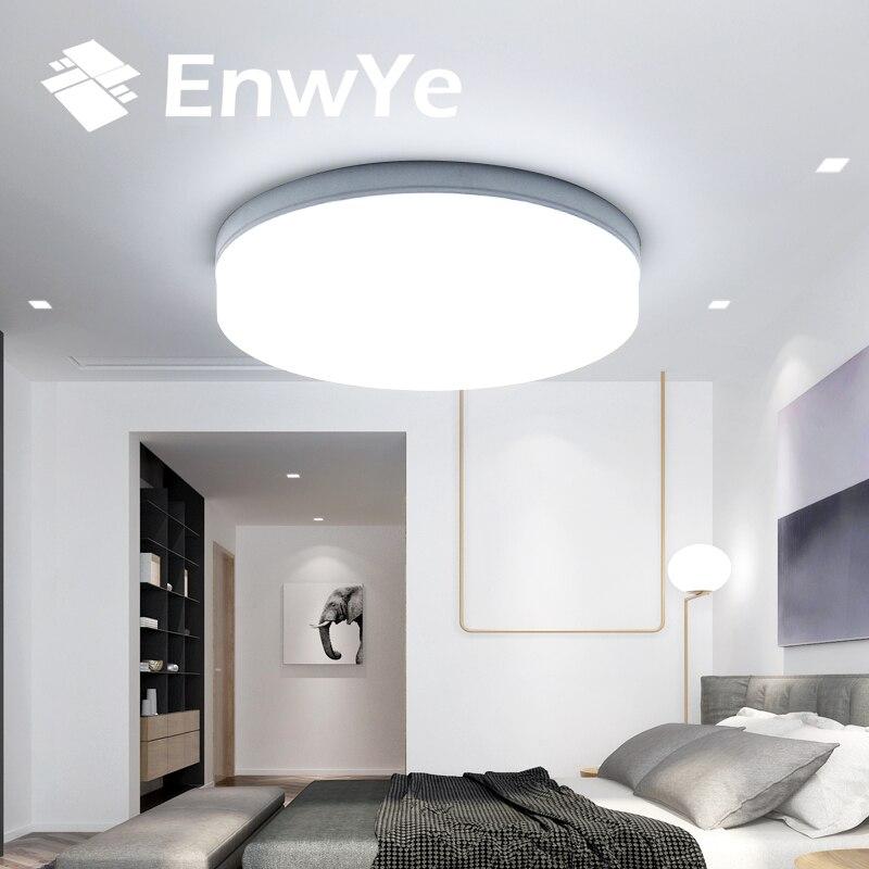 EnwYe Square / Circular ceiling light AC 85-265V led lamp 18W 24W 36W 48W LED Panel Light Surface Mounted LED lamps and lanterns