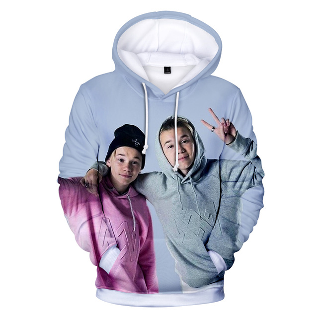 Kpop Hoodie Marcus and Martinus 3D Hoodies Sweatshirts Print Harajuku Women/Men Marcus Sweatshirt Oversized Hoodie Coat Tops jung kook bts persona