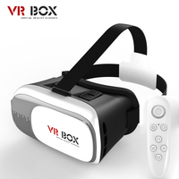 HOT Google Cardboard VR BOX II 2 0 Version VR Virtual Reality 3D Glasses For 3