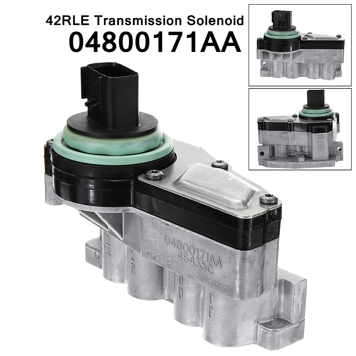 US $83 4 |04800171AA 42RLE Transmission Shift Solenoid Block Pack Fits  Mechanical Stability Corrosion Protection for Dodge Chrysler-in Automatic