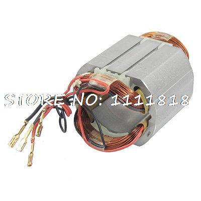 AC220V 4 Cable tempinals статор двигателя для Makita 9553NB Угловая шлифовальная машина motor stator for makitastator makita   АлиЭкспресс