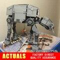 NUEVA LEPIN 05050 1137 unids AT-AT el robot Modelo Building blocks Ladrillos Clásico Compatible 10178 Niños Regalos