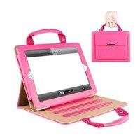 Handtas voor apple ipad mini 1 2 3 case luxe pu leer stand cover mode portfolio case voor mannen vrouwen tas voor ipa mini