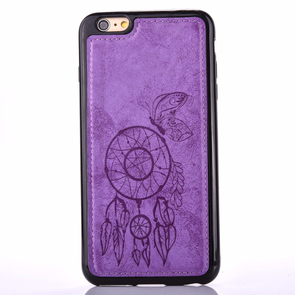 szHAIyu 7 Phone Case Pretty Wind Chimes Pattern Printing