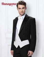 Hanayome Mens Three Piece 2015 New Wedding suit Tailcoat & Tuxedo Pants  4 colors D290