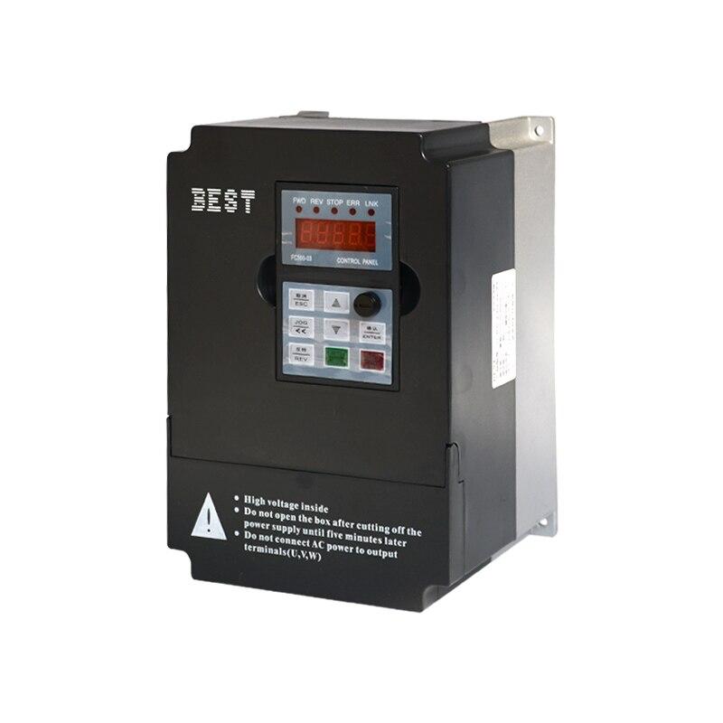 FC300 engraving machine spindle frequency converter 1.5KW single phase 220V multi-function 2.2KW/3KW/4KW/5.5KW панель декоративная awenta pet100 д вентилятора kw сатин
