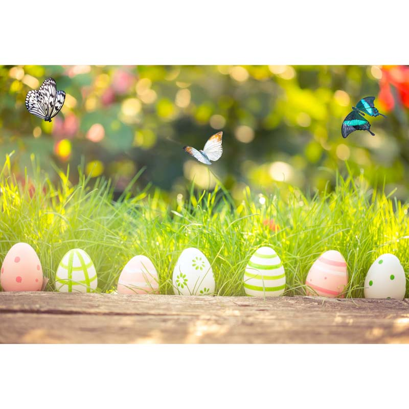 7X5ft Easter vinyl photography background Computer Printed ...
