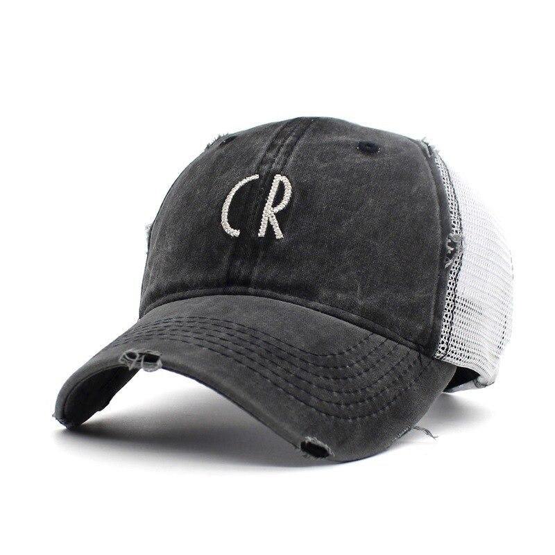 black trucker hat 6