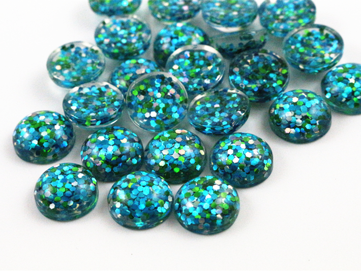 40pcs 12mm New Fashion Peacock Blue, Green and White Mix color Flat Back Resin Cabochons Cameo  G3-3840pcs 12mm New Fashion Peacock Blue, Green and White Mix color Flat Back Resin Cabochons Cameo  G3-38