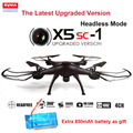 Syma X5SC New Version Syma X5SC-1 4CH 2.4GHz 6 Axis RC Quadcopter with HD Camera 360 Degree Eversion + Extra Free 850mAh Battery