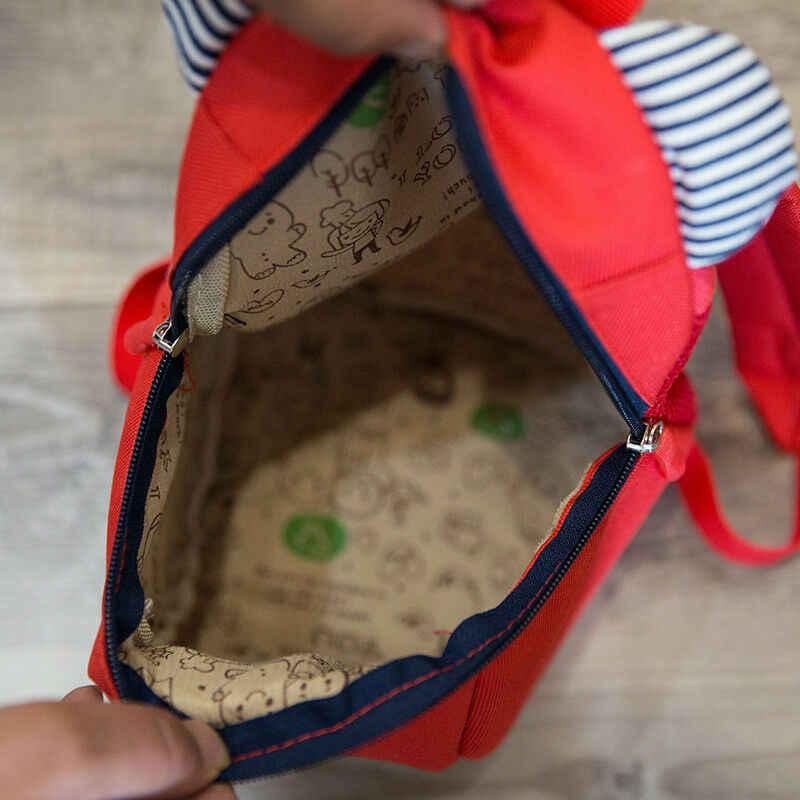 2019 crianças novas crianças bebê mochila andando arnês de segurança rédeas alça da criança saco anti-perdido bonito dos desenhos animados mochilas