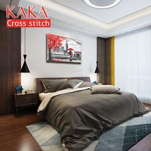 Image 2 - Kruissteek Kits, Borduren Handwerken Sets Met Gedrukte Patroon, 11CT canvas Voor Home Decor Schilderen, Portret Volledige CKP0015