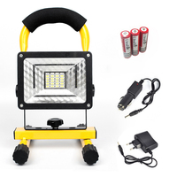 Hot 30W Big Power Portable Flood Security Ultra Lights Search Lights For Outdoor Hunting Camping Climbing