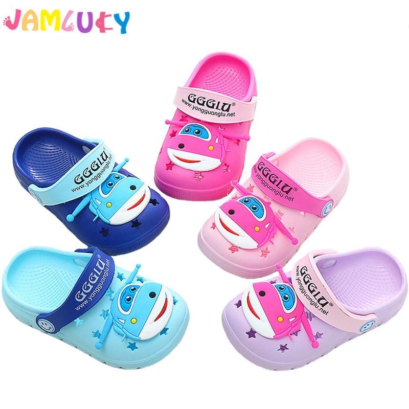 9c60a358145b ̿̿̿(•̪ )Детские тапочки животного летняя обувь для девочек милый ...