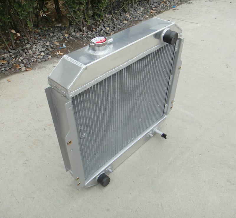56mm 1988-1992 Aluminum Radiator for Nissan Forklift A10-A25,H20,OEM#2146090H10
