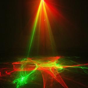 Image 5 - ALIEN Remote RG Aurora Laser Projector Met RGB LED Water Wave Party Dance DJ Disco Vakantie Bar Kerst Podiumverlichting effect
