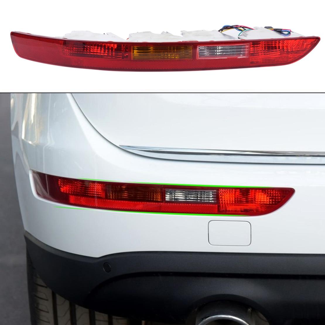 DWCX Rear Left Side Lower Bumper Taillight Lamp Reverse Fog Lamp Assembly for Audi Q5 2009 2010 2011 2012 2013 2014 2015 2016