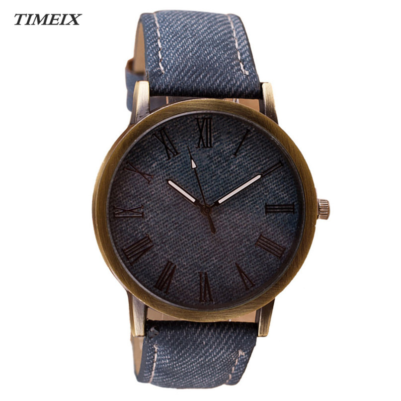 New Watch Men Retro Vogue WristWatch Cowboy Leather Band Analog Quartz Watch Women High Quality Free Shipping *40 free drop shipping 2017 newest europe hot sales fashion brand gt watch high quality men women gifts silicone sports wristwatch